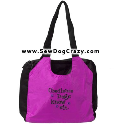 Funny Dog Obedience Bag