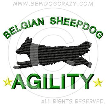 Belgian Sheepdog Agility GIfts