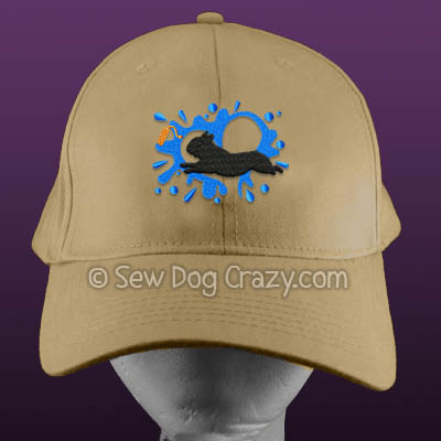 Embroidered French Bulldog Dock Hat