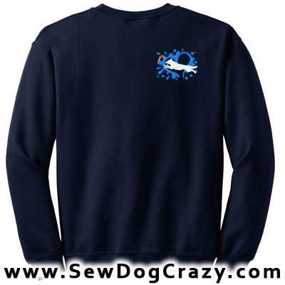 Dock Jumping German Shepherd Sweatshirts