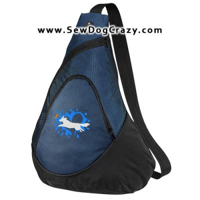 Embroidered Toller Dock Jumping Bag