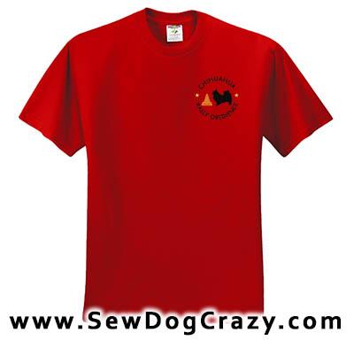 Chihuahua RallyO Tshirt