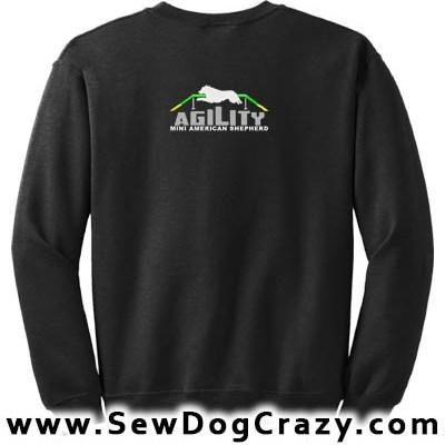 Mini Aussie Agility Sweatshirts