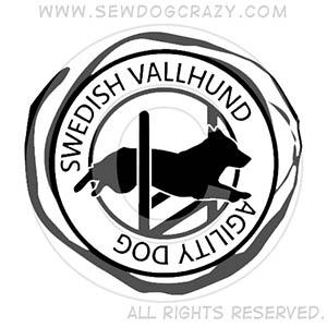 Swedish Vallhund Agility Shirts