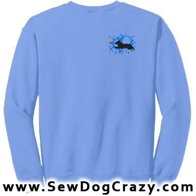 Dock Jumping Vallhund Sweatshirts
