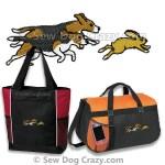 Embroidered Beagle Hunting Bag