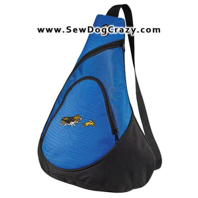 Embroidered Beagle Hunting Bags