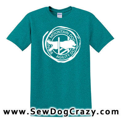 Bernese Mountain Dog Agility Tshirt