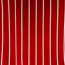 55 red wide stripes