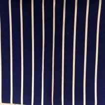 42 navy stripe