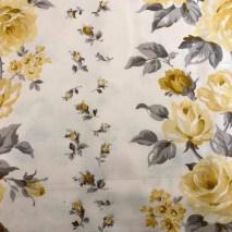 6 Laura Ashley yellow rose