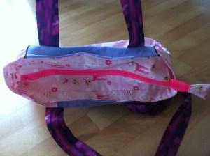 Handtasche Reissverschluss