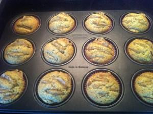 Birnen-Vanille Muffins