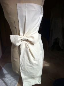 Kleid Abformen