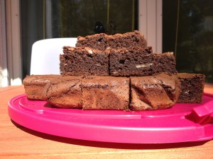 bananen brownies
