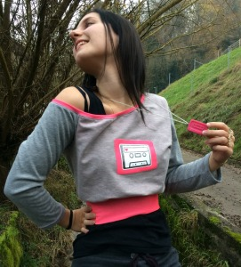 90s Pullover pink
