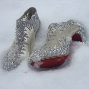 Louboutins in the Snow