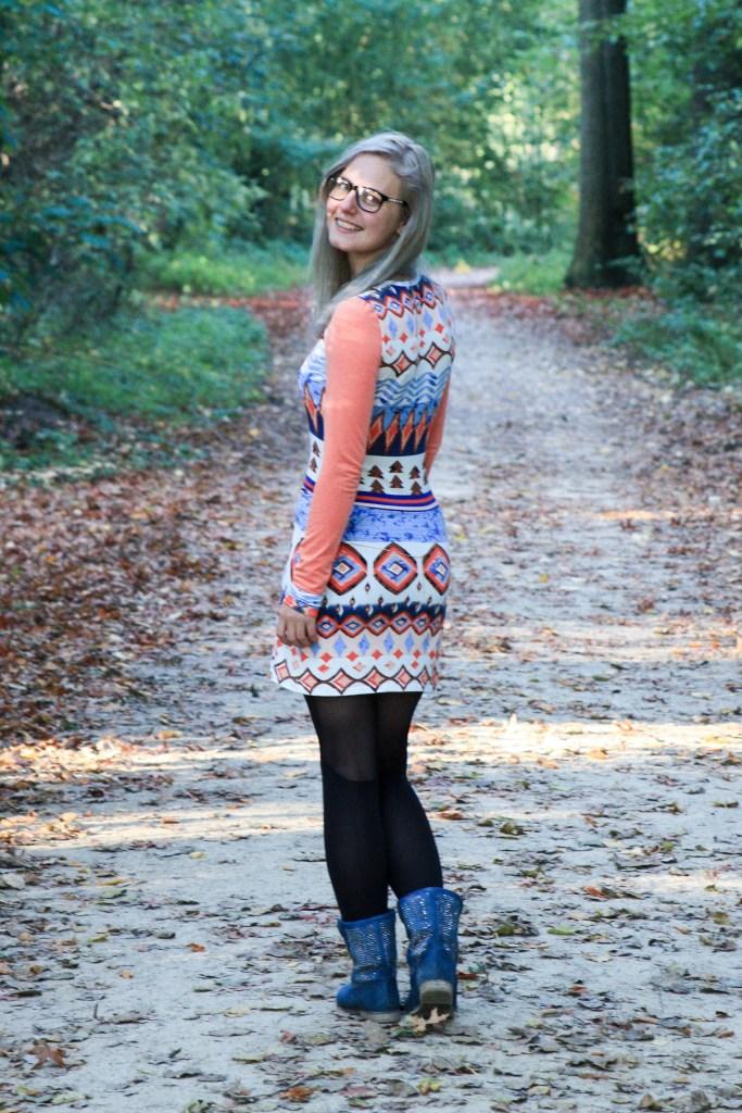 Masha dress in the woods