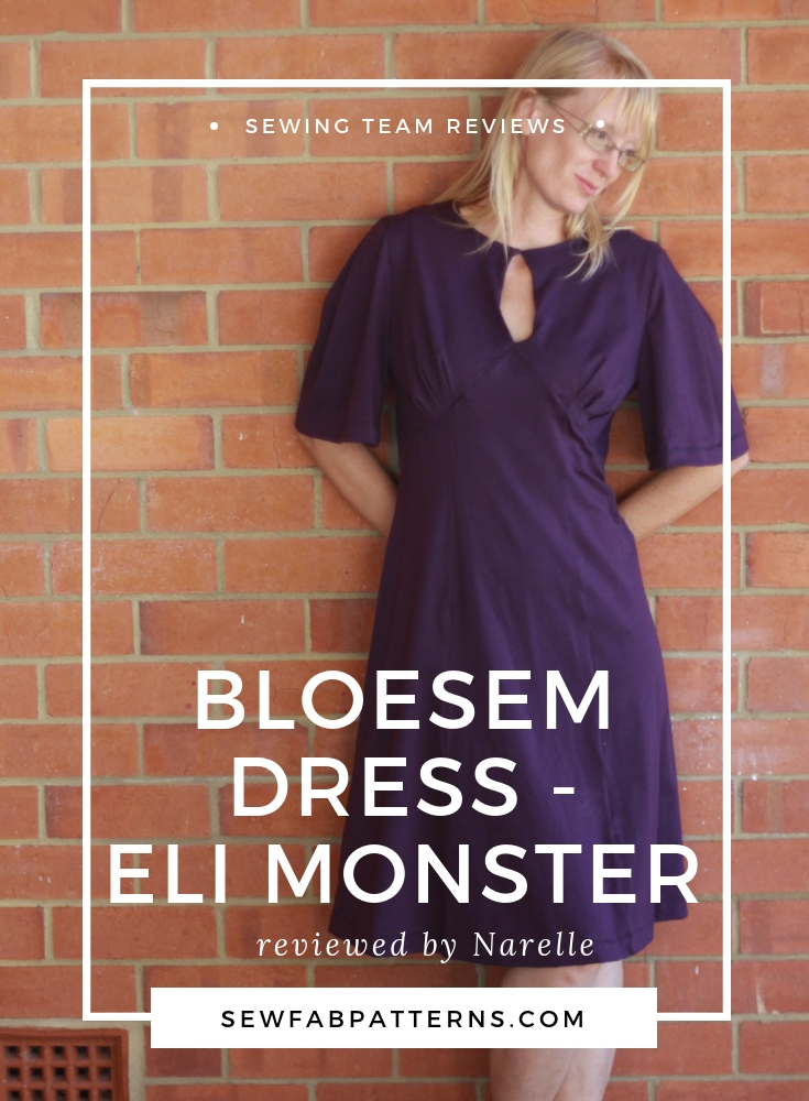 bloesem dress- eli monster