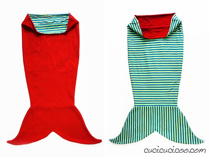 reversible sea snuggler blanket