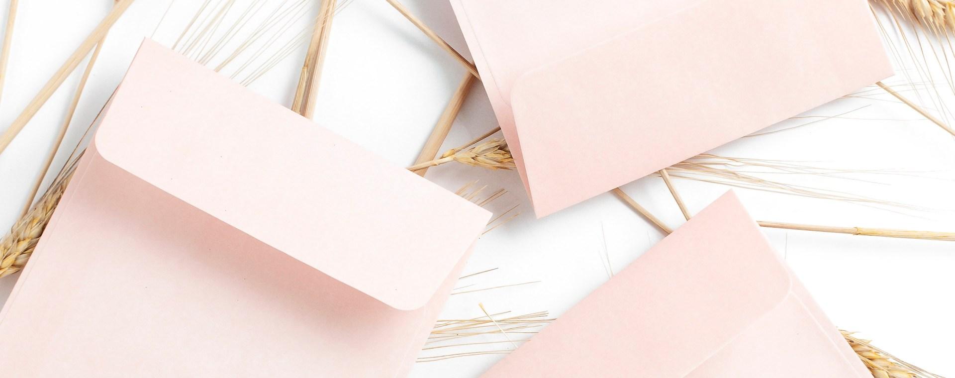 pink notepads