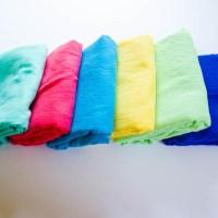 Super Easy Crinkle Gauze Swaddle Blankets
