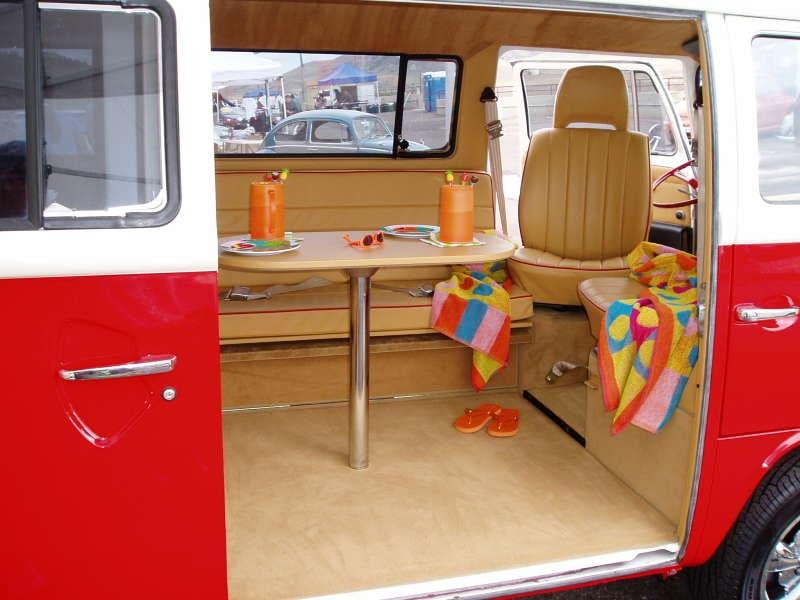 Barrys VW Bus Custom Interior Amp Restoration Volkswagen
