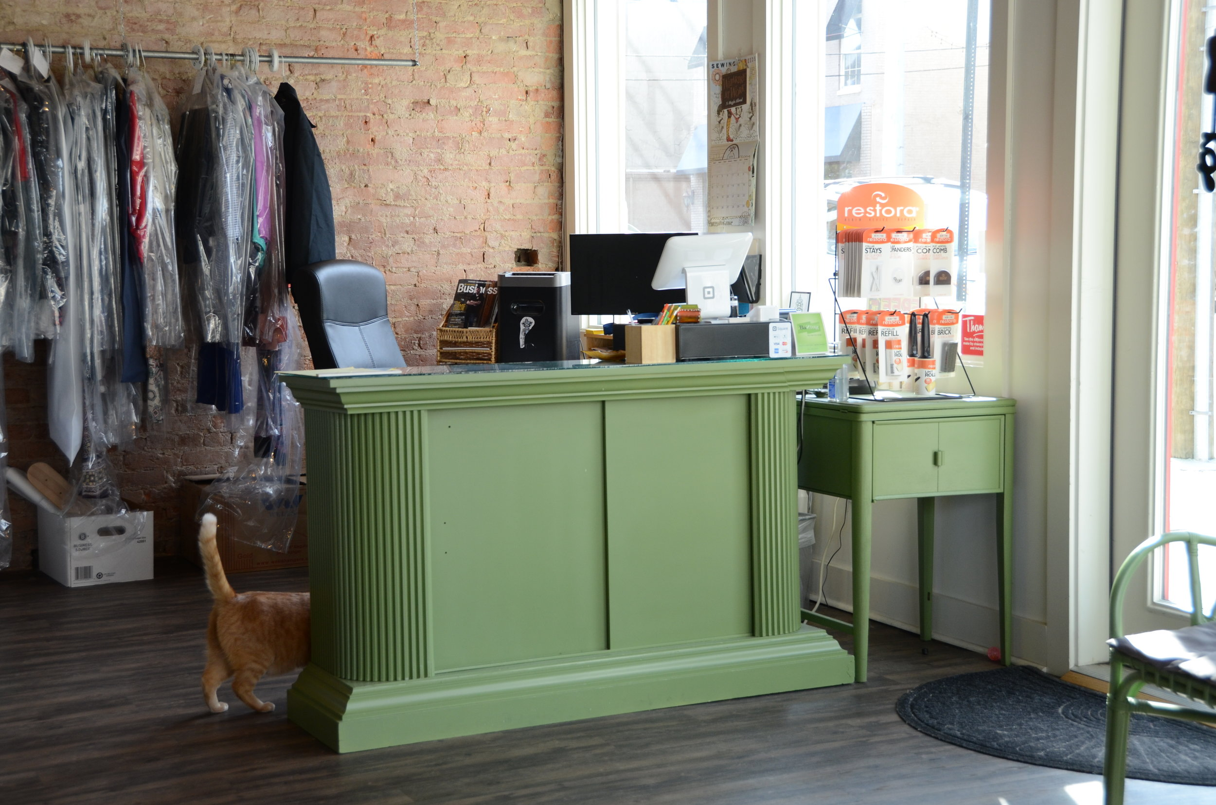 Sew Fitting Front Desk