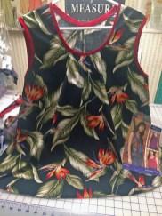 Newly sewn