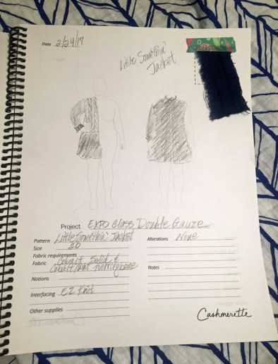 Cashmerette Sketch Book
