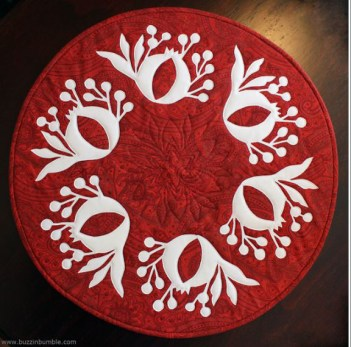 Pomegranate Table Topper