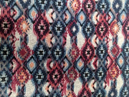 aztec fabric close up