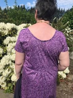 MMM18 Meridian Dress back