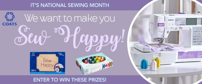 Coats Sewing Month Giveaway 2018