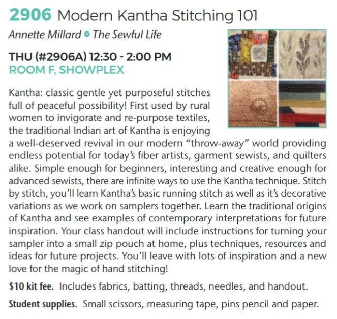 2906 kantha stitching