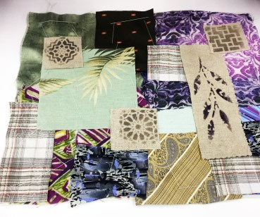 Kantha laid out