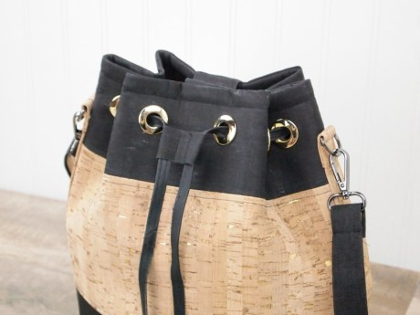 Cork bucket bag pattern