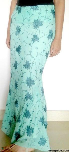 Mermaid Skirt Pattern : mermaid, skirt, pattern, Mermaid, Skirt, Sewing, Pattern, Tutorial, Guide