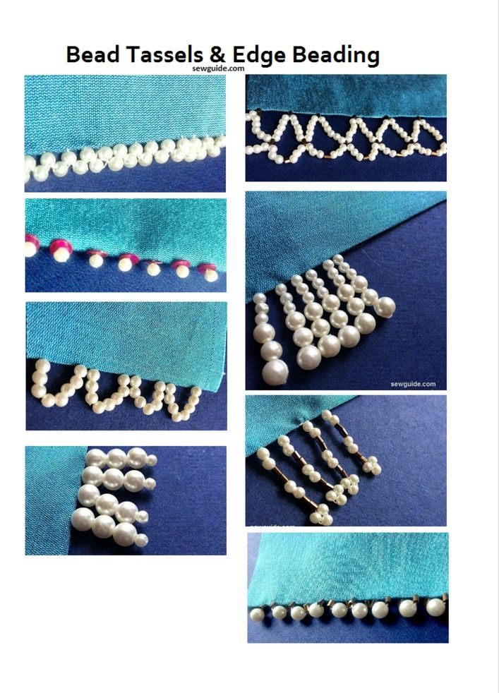 How to Bead Fabric : 7 Steps (with Pictures) - Instructables