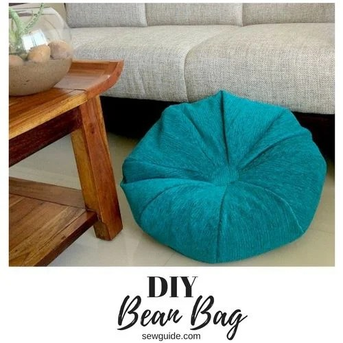 Make an easy Bean Bag DIY Sewing pattern  Sew Guide