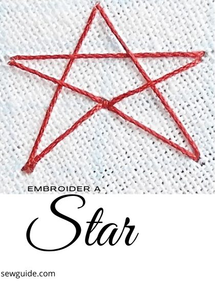 Stitch Fun: Star Stitch - for Stars and Snowflakes | Hand
