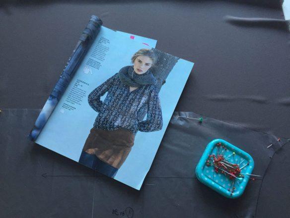 Bluse mit Passe | sewingfever