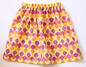 ボンドで作るスカート