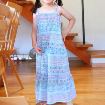 #15 【子供服レシピ】小学生の自由研究 親子で作るティアードワンピース