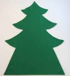100円フェルトで作る簡単おしゃれな手作りクリスマスツリー