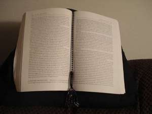 hands-free-book-pillow