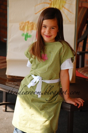 Tutorial Child S Paint Smock From Adult Shirt Sewing
