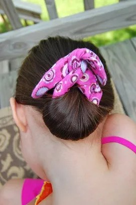 Tutorial Sew A Bun Maker For Easy Summer Hair Sewing