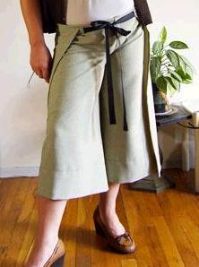 Tutorial Easy Wrap Around Pants Sewing
