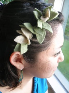 feltflowerheadband